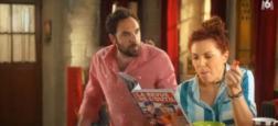 """Audiences 20h30: La série quotidienne """"Scènes de ménages"""" reste forte avec 4,1 millions de téléspectateurs hier soir sur M6"""