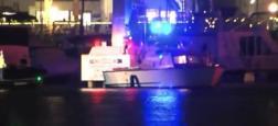 Californie: Découvrez les images du sauvetage de 16 personnes bloquées depuis plusieurs heures dans un manège à Sea World situé à San Diego - VIDEO