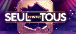 """Nagui et Laury Thilleman à la tête d'une nouvelle émission intitulée """"Seul contre tous"""" le samedi 10 février prochain à 21h en direct sur France 2"""