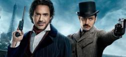 """Audiences prime: """"Sherlock Holmes"""" petit leader à 3.1 millions sur TF1 - France 2, France 3 et M6 dans un mouchoir de poche à 2.2 millions"""