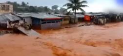 Regardez les images impressionnantes des inondations au Sierra-Leone qui ont causé la mort de 312 personnes, dont 105 enfants - VIDÉO
