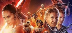 """Audiences prime:  """"Star Wars: Le réveil de la force"""" leader sur TF1 frôle les 5 millions - """"Zone Interdite"""" en forme sur M6 à plus de 3 millions"""