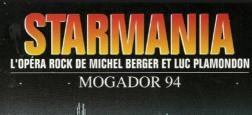 France 2 fêtera les 40 ans de Starmania avec des artistes qui chanteront pour le Sidaction le samedi 6 avril en prime