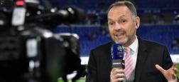 Le commentateur de Canal+ Stéphane Guy, mis à pied pour avoir exprimé son soutien à l'humoriste Sébastien Thoen, a été finalement licencié, annonce la chaîne cryptée