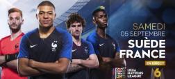"""Audiences Prime: La match Suède-France sur M6 large leader à plus de 4,7 millions suivi par France 3 - """"The Voice Kids"""" sur TF1 à la troisième place"""