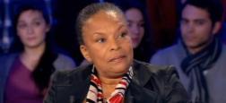 """Christiane Taubira soutient Mennel de """"The Voice"""": """"C'est rare de voir une femme voilée à la télé [...] C'est trop pour la partie raciste de notre pays"""""""