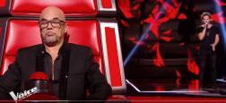 """Audiences prime: """"The Voice"""" en hausse sur TF1 avec plus de 6,2 millions - Déception pour """"Les grosses têtes"""" sur France 2 à 2,4 millions battues à la 3e place"""