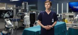 "Audiences Prime: Le retour de ""Good Doctor"" sur TF1 petit leader à 3,8 millions - France 3 à 3,6 millions - La série de M6 battue par France 2"