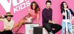 """La 5ème saison de """"The Voice Kids"""", avec l'arrivée de Soprano et Amel Bent dans le jury, lancée le vendredi 12 octobre à 21h sur TF1"""