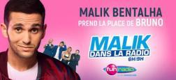 Malik Bentalha va remplacer Bruno Guillon sur Fun Radio le temps d'une émission suite à d'un pari gagné face à l'animateur !