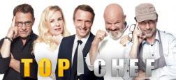 """Audiences Prime: """"Top Chef"""" sur M6 leader d'une courte tête devant la série de TF1 - Flop pour les débats sur les municipales de France 3 derrière Arte, W9, TMC, NRJ12..."""