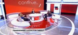 "Audiences 2e PS: Le débat ""Transgenres, la fin d'un tabou?"" attire 1,5 million de téléspectateurs à 22h30 sur France 2"