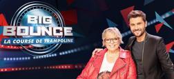 """Le nouveau jeu de TF1 """"Big Bounce, la course de trampoline"""", présenté par Laurence Boccolini et Christophe Beaugrand, sera lancé le vendredi 4 janvier en prime"""