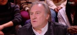 Audiences 20h: Avec Gérard Depardieu, Quotidien réalise un très beau score pour un vendredi avec 1,3 million de téléspectateurs sur TMC