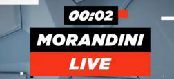 A 11h05 Morandini Live sur CNews - Départ Camille Combal - Mort d'Avicii - Antisémtisme - Mimi Mathy  - Speakerines: Evelyne Leclerc et Elisabeth Tordjman en direct