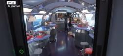 Des voyageurs excédés par la SNCF décident de s'approprier le wagon-bar alors que le personnel a déserté le train - VIDÉO