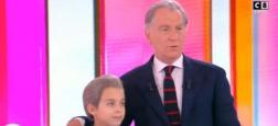 """Ce midi en direct sur C8, un enfant a remplacé William Leymergie à la présentation de l'émission """"William à midi"""" - Regardez"""