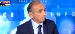 Audiences: Eric Zemmour permet à CNews d'être première chaîne info hier entre 19h et 20h devant BFMTV, LCI et Franceinfo