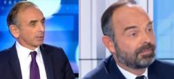 Audiences - Eric Zemmour sur CNews à égalité hier soir avec Edouard Philippe sur BFMTV entre 19h et 20h