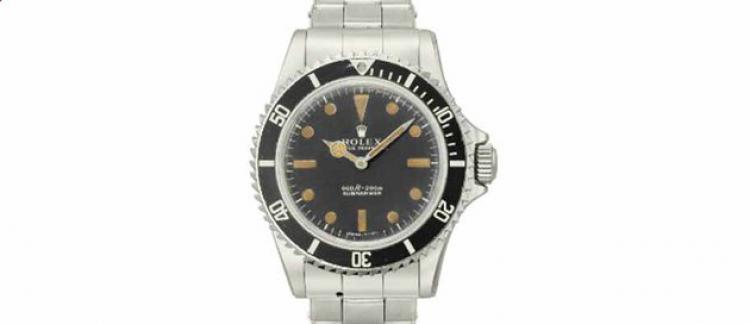 137d774c2af Enchères  Une montre Rolex de James Bond vendue 150.000 euros