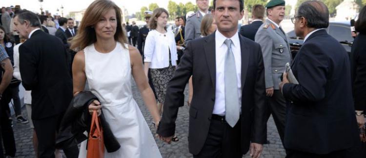 La Femme De Manuel Valls Fait Une Déclaration Damour à Son