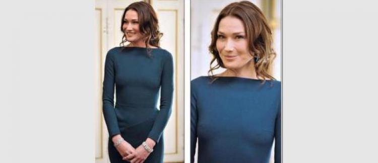 729d219f780375 La robe sexy de Carla Bruni affole le net et la presse!