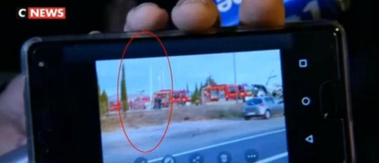 Accident De Car A Millas Regardez Cette Photo Prise Par Un