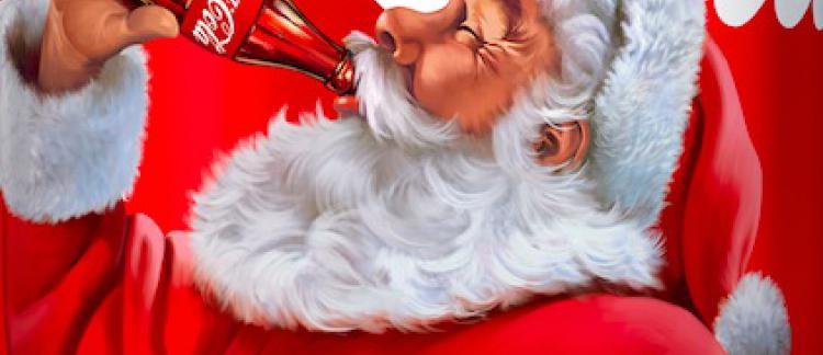 Image Pere Noel Coca Cola.A Noel Coca Cola Invite Ses Consommateurs A Un Geste