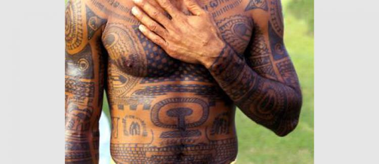 Johnny Hallyday s\u0027est trompé dans son tatouage.