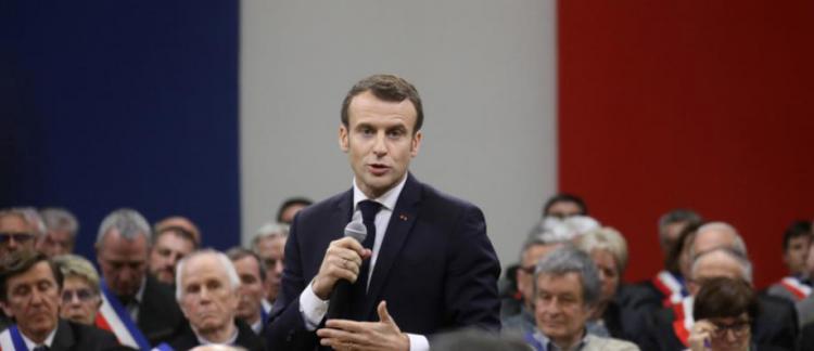 8649aa77e77 Emmanuel Macron va renouer demain avec la longue conférence de presse à  l Elysée