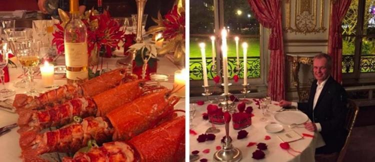 """Résultat de recherche d'images pour """"de rugy homard"""""""