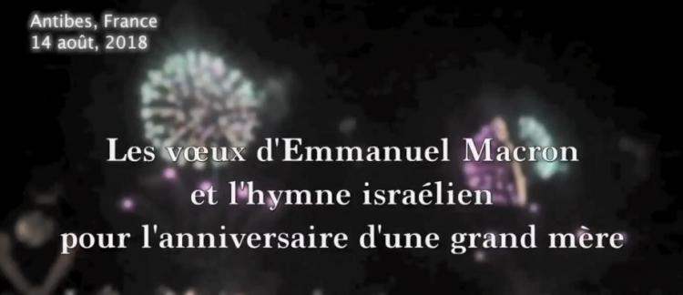 Feu D Artifice Message D Anniversaire D Emmanuel Macron Hymne