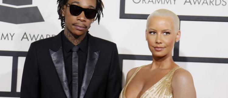 Le Rappeur Wiz Khalifa Et La Chanteuse Amber Rose Divorcent