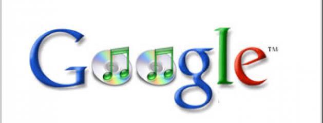 google s 39 est lanc cette nuit dans la vente de musique en ligne. Black Bedroom Furniture Sets. Home Design Ideas