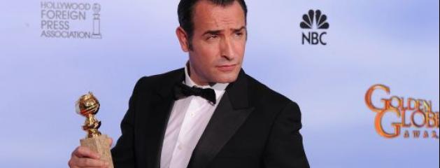 Golden globes jean dujardin meilleur acteur comique the for Dujardin jean marc