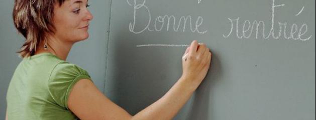 Sondage enseignant un m tier d 39 avenir pour huit fran ais - Grille salaire enseignant second degre ...