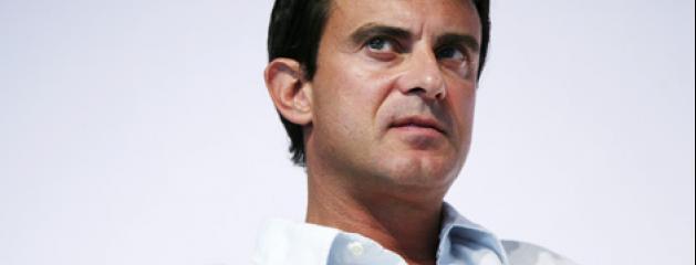 Le ministre de l 39 int rieur manuel valls condamne for Le ministre de l interieur