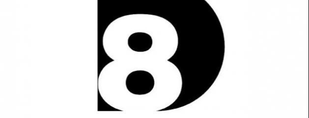 voici le logo du nouveau direct 8 version canal plus. Black Bedroom Furniture Sets. Home Design Ideas