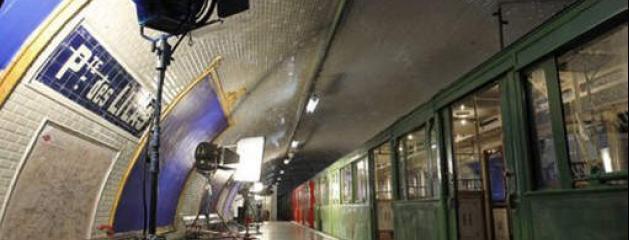 la station de m 233 tro porte des lilas est devenue un v 233 ritable plateau de cin 233 ma