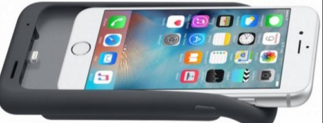 apple lance sa premi re coque batterie pour les iphone 6 et 6s. Black Bedroom Furniture Sets. Home Design Ideas