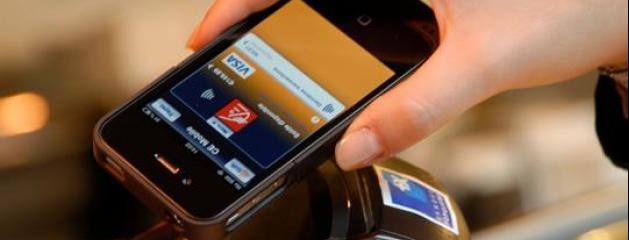 paiement via un smartphone