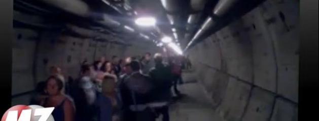 morandini zap des passagers oblig s de laisser leur voiture dans le tunnel sous la manche. Black Bedroom Furniture Sets. Home Design Ideas
