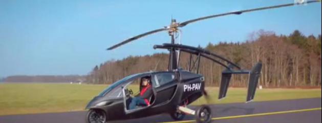d couvrez la premi re voiture volante invent e par une soci t n erlandaise regardez. Black Bedroom Furniture Sets. Home Design Ideas